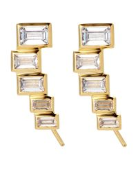 Kacey K | Metallic 14K Gold-Plated Earrings | Lyst