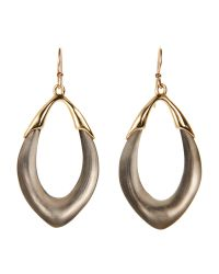 Alexis Bittar | Metallic Lucite Orbit Link Drop Earrings | Lyst