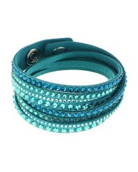 Swarovski - Blue Slake Crystal Deluxe Bracelet - Lyst