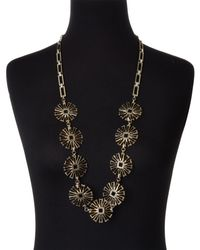 Lulu Frost - Metallic Daisy Long Necklace - Lyst