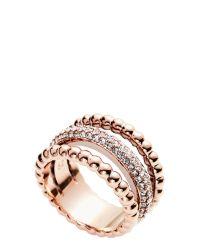 Swarovski | Pink Click Ring Size 5.75 | Lyst
