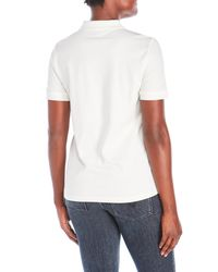 Tommy Hilfiger - White Studded Logo Polo for Men - Lyst
