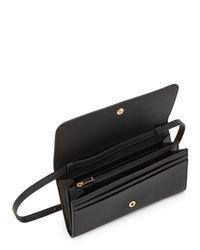 Furla - Black Ritzy Xl Bi-fold Crossbody Wallet - Lyst