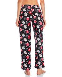 Rene Rofe - Red Lurex Drawstring Pajama Pants - Lyst