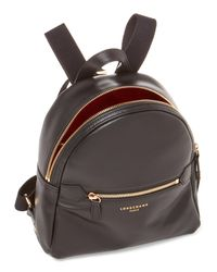 Longchamp - Black Leather 2.0 Backpack - Lyst