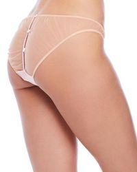 Mimi Holliday by Damaris - Pink Mimosa Button Bikini Panty - Lyst
