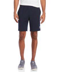 Adidas - Blue Classic Stripe Shorts for Men - Lyst