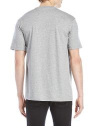 Psycho Bunny - Gray V-neck Tee for Men - Lyst