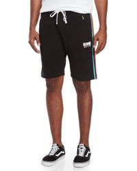 BBCICECREAM - Black Club Aba Drawstring Shorts for Men - Lyst