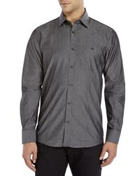 Tocco Toscano - Gray Iridescent Sport Shirt for Men - Lyst