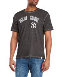 47 Brand - Black New York Yankees Tee for Men - Lyst