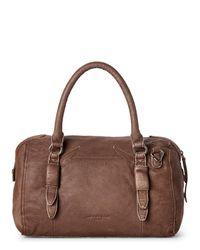 Liebeskind - Brown Moya Double-dye Leather Satchel - Lyst