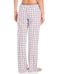 Psycho Bunny - Multicolor Knit Logo Lounge Pants - Lyst