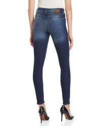 Mavi - Blue Lucy Super High-rise Skinny Jeans - Lyst