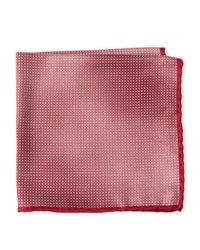 Brunello Cucinelli - Red Silk Dot Pocket Square for Men - Lyst