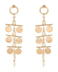 Eddie Borgo - Metallic Gold-tone Ios Drop Earrings - Lyst