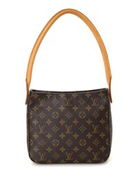 Louis Vuitton - Brown Looping Mm Monogram Shoulder Bag - Vintage - Lyst