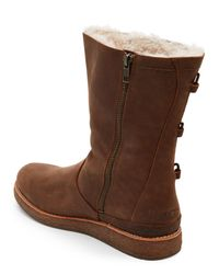 Ugg | Brown Chocolate Kaya All-Weather Boots | Lyst