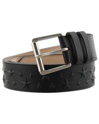 Jimmy Choo - Black Leather Belt - Lyst