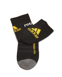Gosha Rubchinskiy - Black X Adidas Colour-block Logo Socks for Men - Lyst