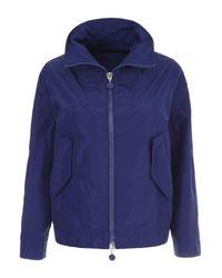Moncler - Blue Zip Up Jacket - Lyst
