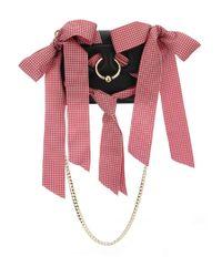 J.W. Anderson - Black Ribbon Mini Pierce Crossbody Bag - Lyst