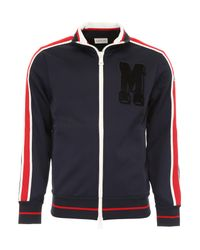 Moncler - Blue Track Jacket for Men - Lyst