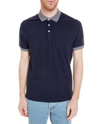 Brunello Cucinelli - Blue Polo Shirt for Men - Lyst