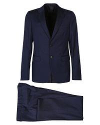 Prada - Blue Classic Suit for Men - Lyst