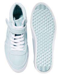 ASOS | Blue Dylan Sneakers | Lyst