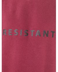 Matthew Miller - Red 'resistant' Sweatshirt for Men - Lyst