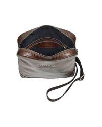 The Bridge - Brown Pininfarina Legacy Marrone Leather Messenger Bag for Men - Lyst