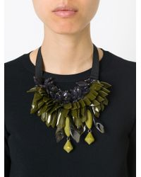P.A.R.O.S.H. | Green 'ossyne' Necklace | Lyst
