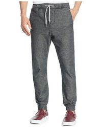 LRG | Gray 47th Generation Joggers for Men | Lyst