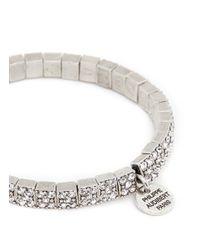 Philippe Audibert - White 'Baptista' Crystal Elastic Bracelet - Lyst