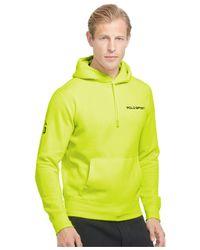 Polo Ralph Lauren | Yellow Polo Sport Neon Fleece Pullover Hoodie for Men | Lyst