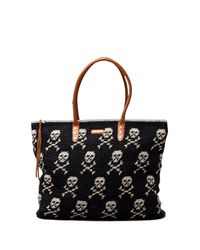 Rebecca Minkoff | Black East West Skull Tote | Lyst