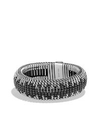 David Yurman | Metallic Tempo Cuff Bracelet | Lyst