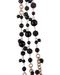 Rosantica By Michela Panero - Metallic Chimera Onyx Lava  Gold-plated Necklace - Lyst