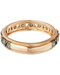 Annoushka - Pink Rose Gold Dusty Diamond Eternity Ring - Lyst