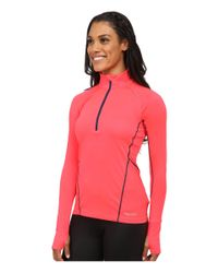Marmot | Pink Interval Half-zip Long Sleeve | Lyst