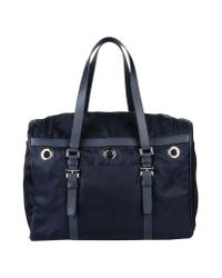 Prada - Blue Luggage - Lyst