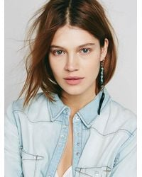 Free People - Blue Sun + Glory Womens Santa Ana Earrings - Lyst