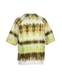 MSGM - Green Sweatshirt for Men - Lyst