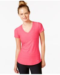 Under Armour - Purple Ua Perfect Pace Tee - Lyst
