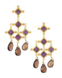 Stephanie Kantis - Purple Venetian Chandelier Earrings - Lyst