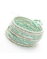 Nakamol - Multicolor Jhulier Wrap-silver/seafoam - Lyst