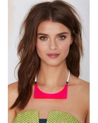 Nasty Gal | Pink I Still Love You Nyc Alien Choker | Lyst