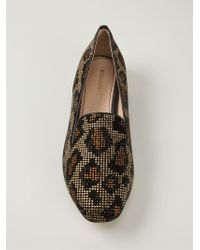 DSquared² | Black Leopard Slippers | Lyst