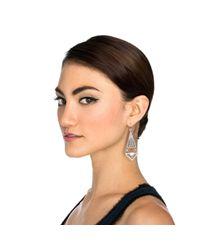 Lulu Frost | Metallic Lucent Earring | Lyst